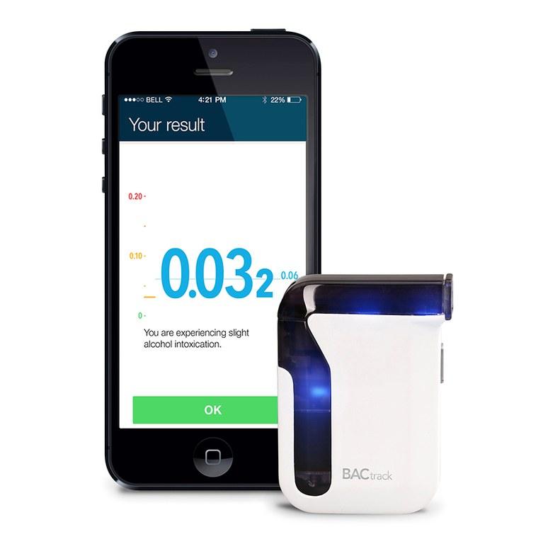 BACtrack mobile breathalyzer